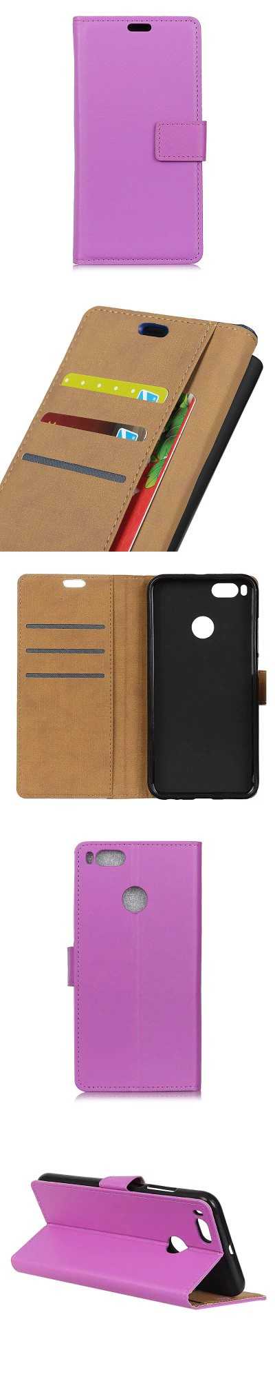 Pattumiera Xiaomi One Hundred Lines Wallet Stand Leather Phone Case For Xiaomi 5x