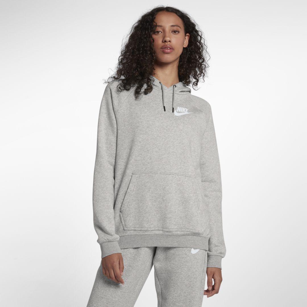 Nike Sportswear Rally Women's Hoodie Size 2XL (Grey Heather ...