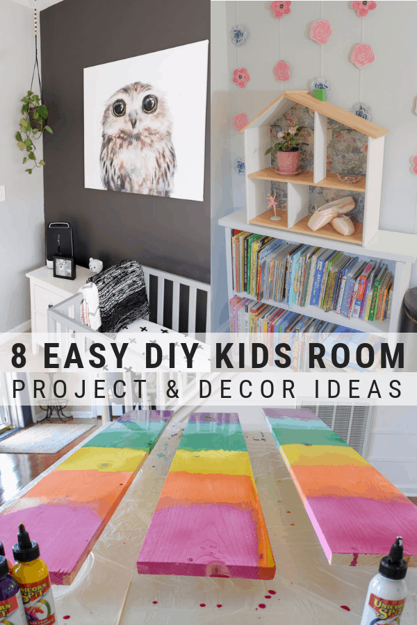 Inexpensive Decorating Ideas For Kids Rooms Diy Kids Room