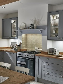 Tewkesbury Slate Grey Kitchen Fitted Kitchens Howdens