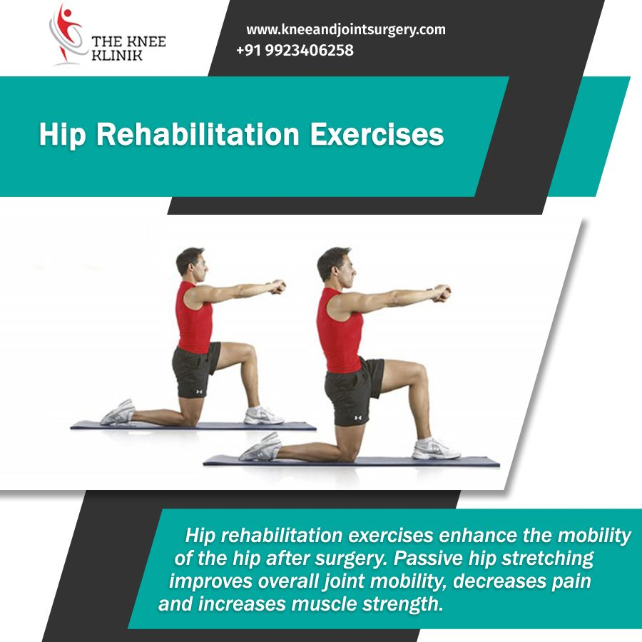 Once You Return Home Exercise Is Still Important To Prevent Complications And To Build Strength As Well As Impr Rehabilitation Exercises Hip Workout Exercise