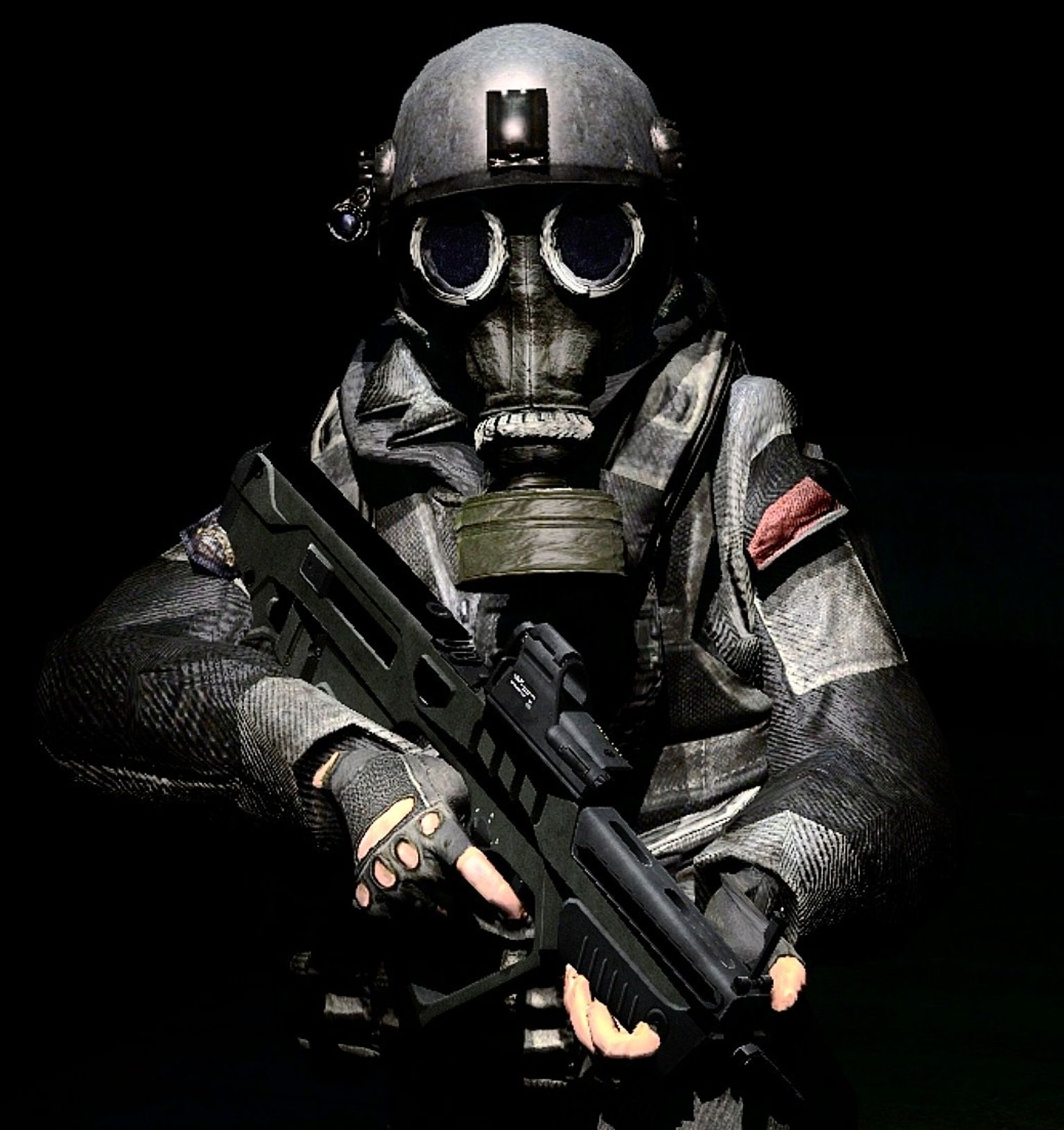 Fear The Gas Mask By ~LordHayabusa357 On DeviantART
