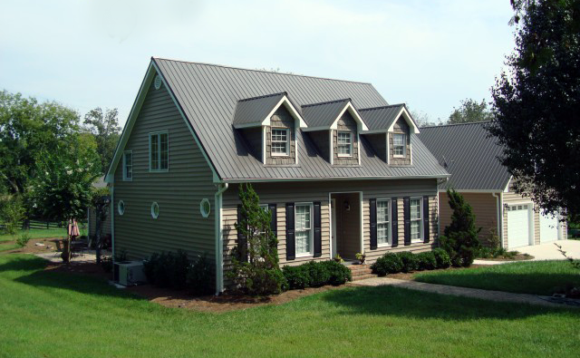 Cape cod style house gray standing seam roof google for Shingle art cape cod