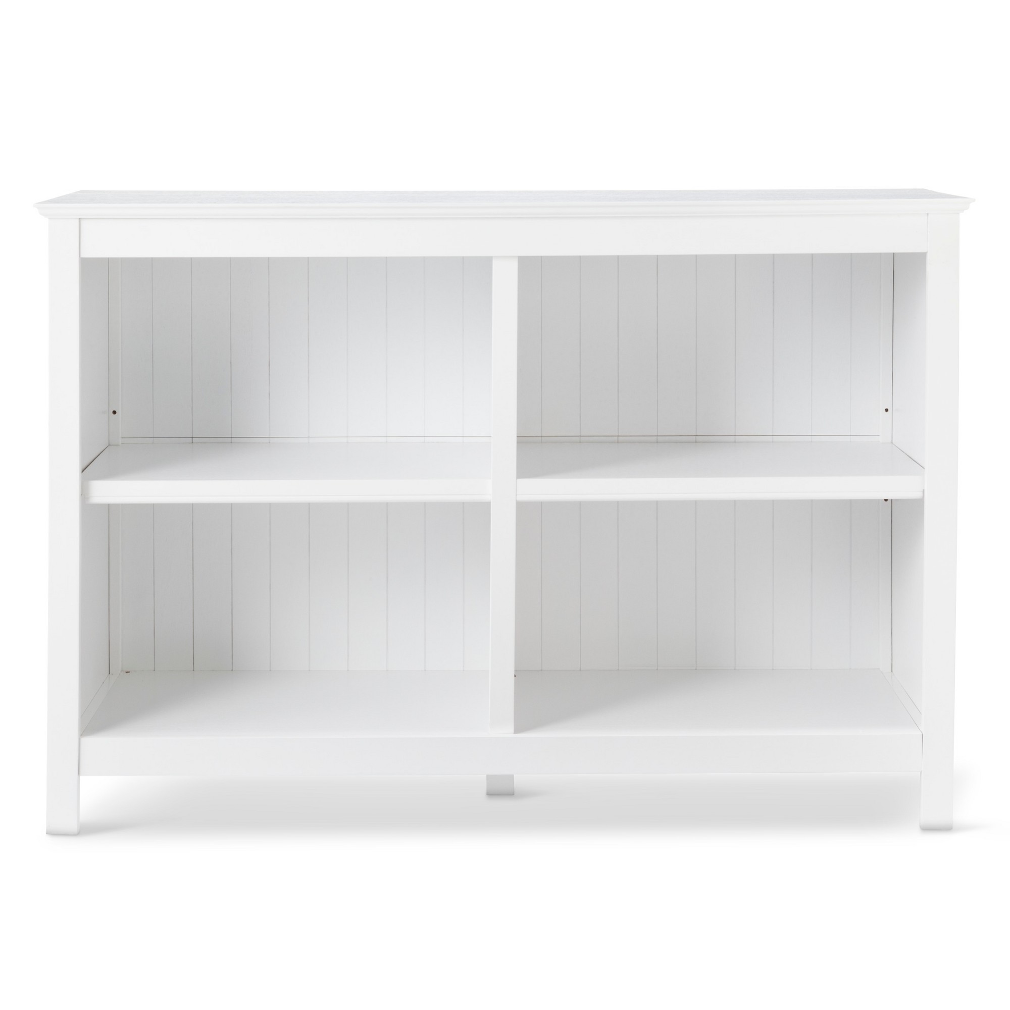 Stafford Small 4 Cube Horizontal Bookcase  White