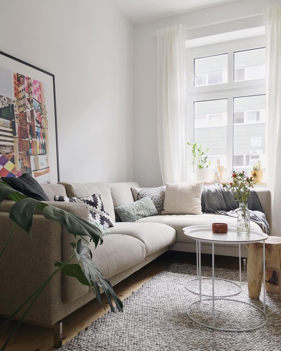 Nockeby sofa and tray table | Estrela Home | Pinterest | Trays ...