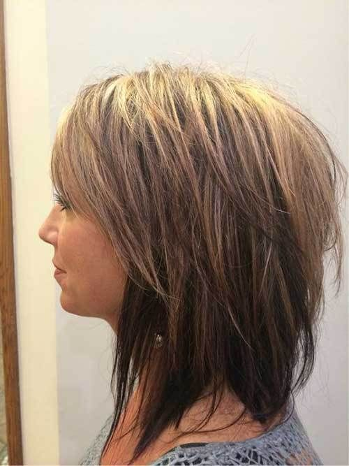 Best Short Layered Haircuts for Women Over 50 #shortlayeredhaircuts