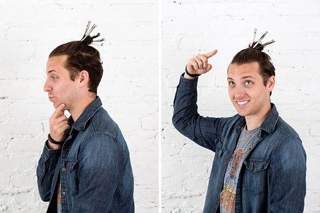 Growing My Man Bun Week 3 How To Train Your Hair To Grow Via Brit