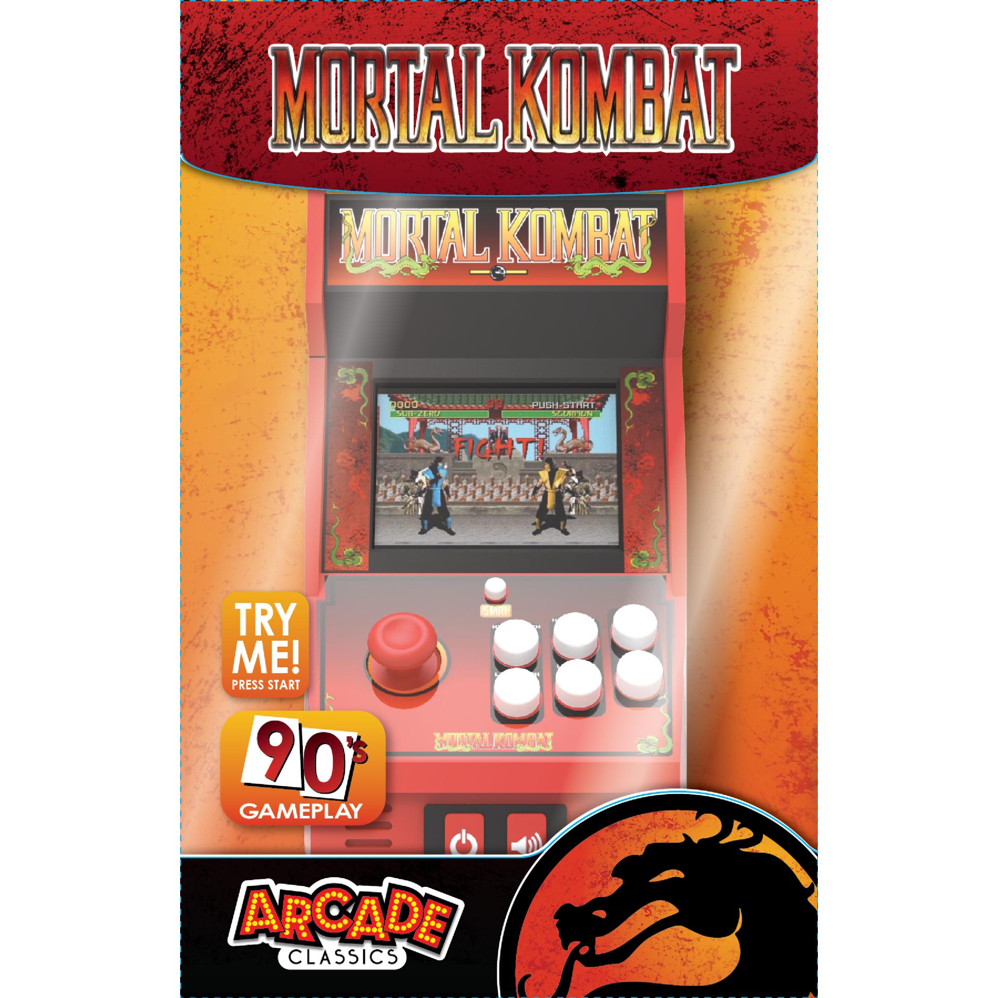 Mortal Kombat Handheld Arcade Game Color Screen Walmart Com Arcade Games Arcade Mini Arcade
