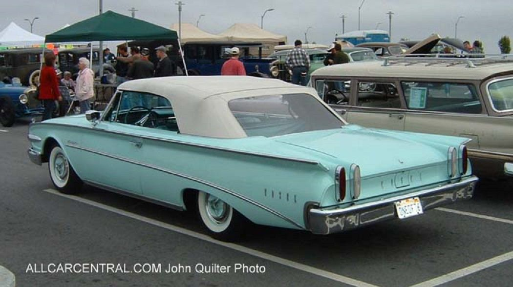 1960 Edsel Ranger Convertible Lt. Blue with White Top. | Classic ...