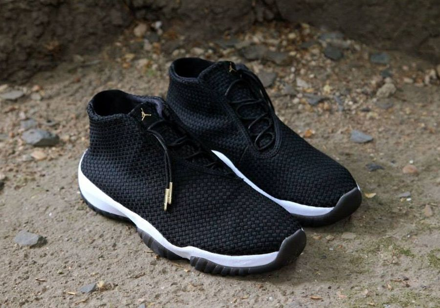 air jordan future premium black glow pad