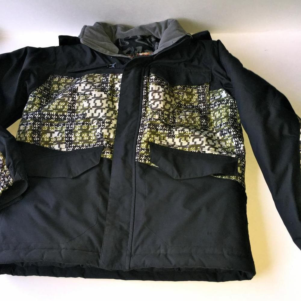 85078e5639cf7 Turbine Boardwear Black SHIFTY SKI   SNOWBOARD JACKET Boys size small.VERY  G C.  TURBINE