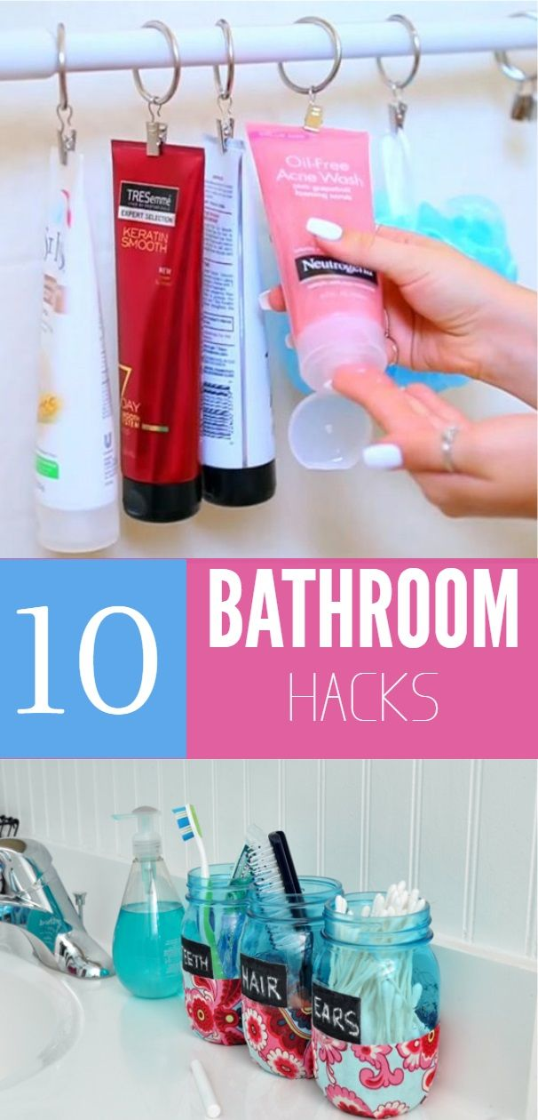 Diy Life Hacks Part - 28: 10 Life Hacks That Will Totally Change The Way You Shower