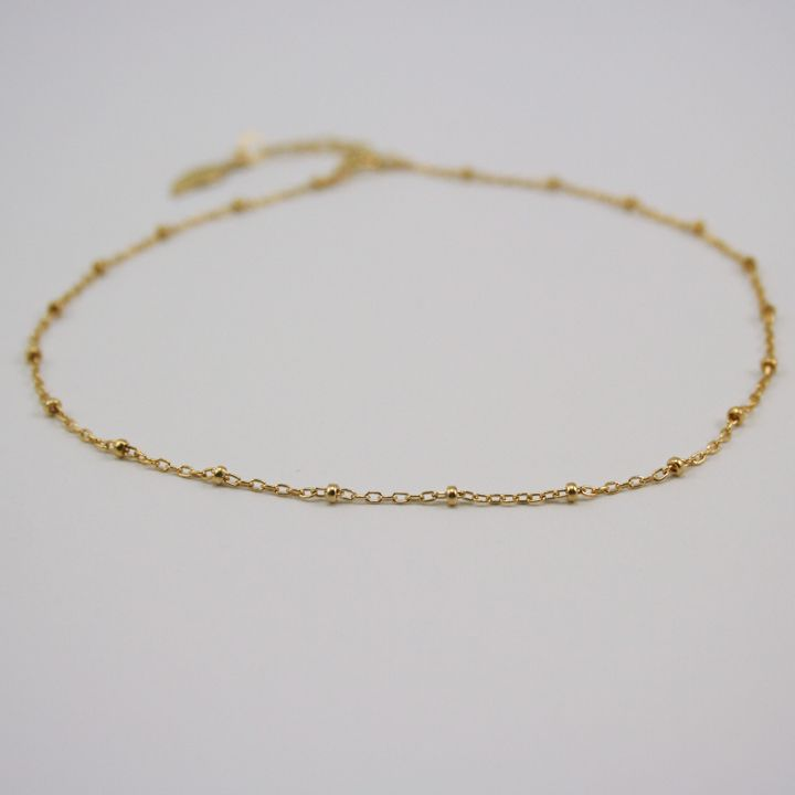 delicate adjustable gold handmade up chain inch inches simple your filled from pick extender beaded and anklet plus length to bracelet or pin
