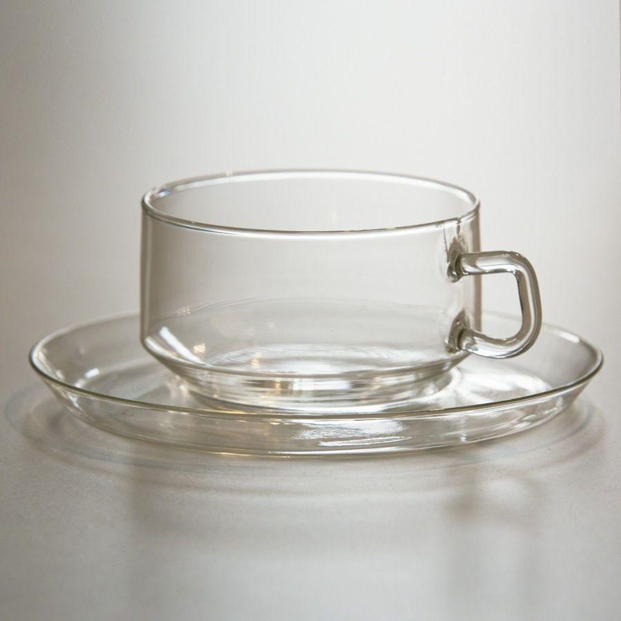 Teetassen Glas jenaer glas schott assam teetassen set aus 3 tassen u