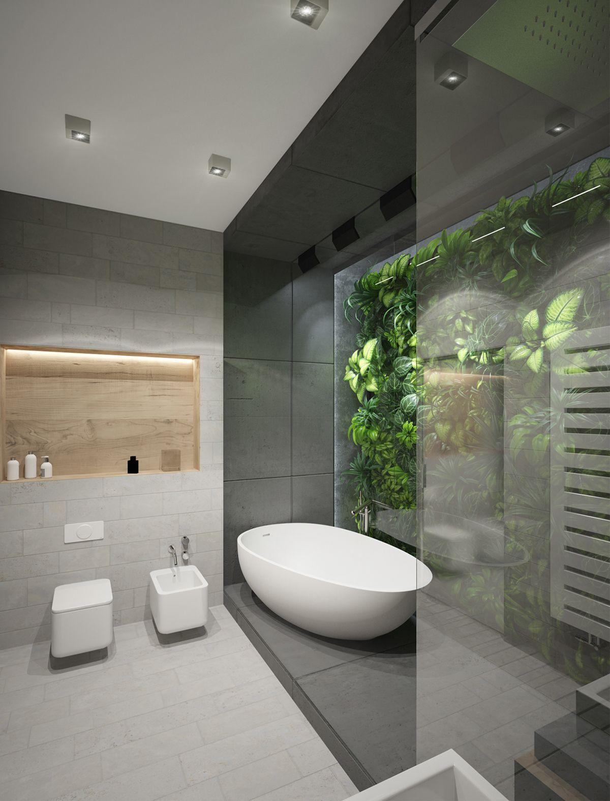 RAINFOREST BATHROOM on Behance Bathroom design Pinterest