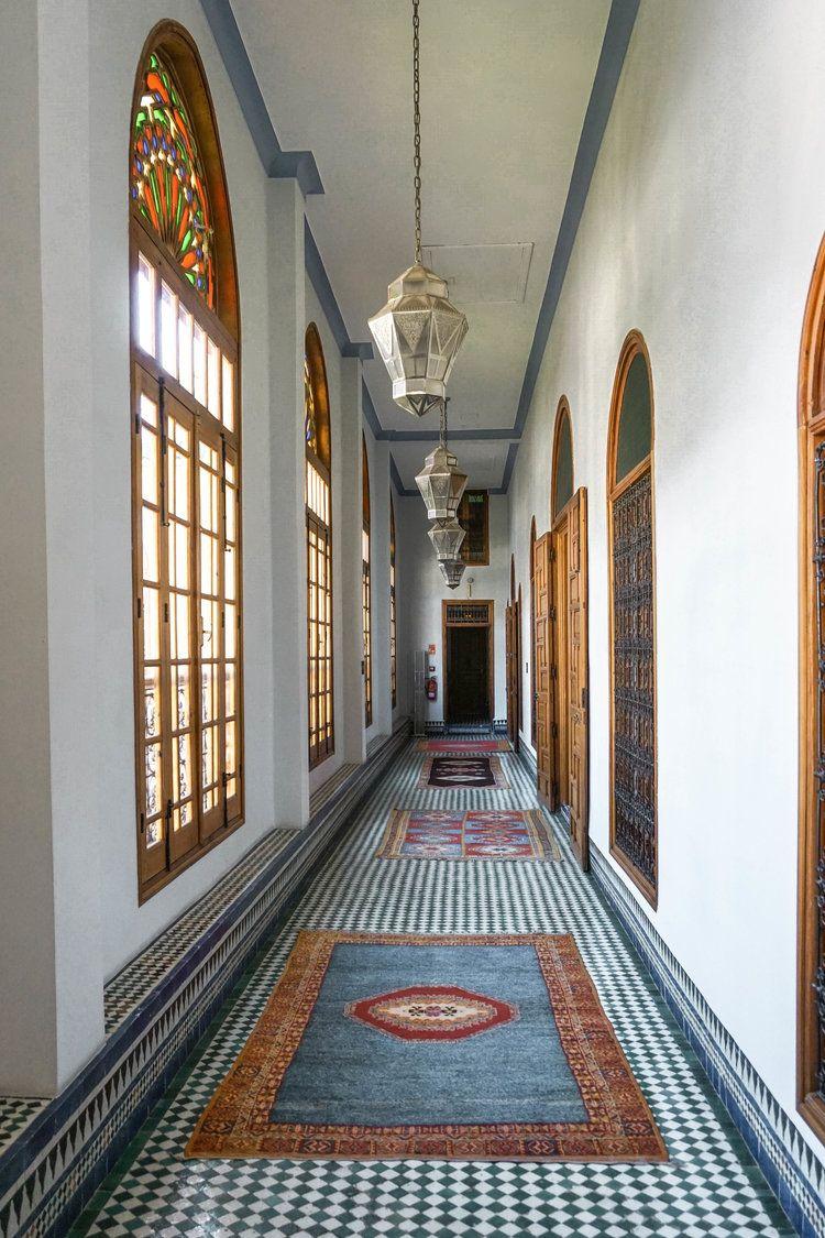Palais Amani in Fez Big shower, Moroccan design, Hotel