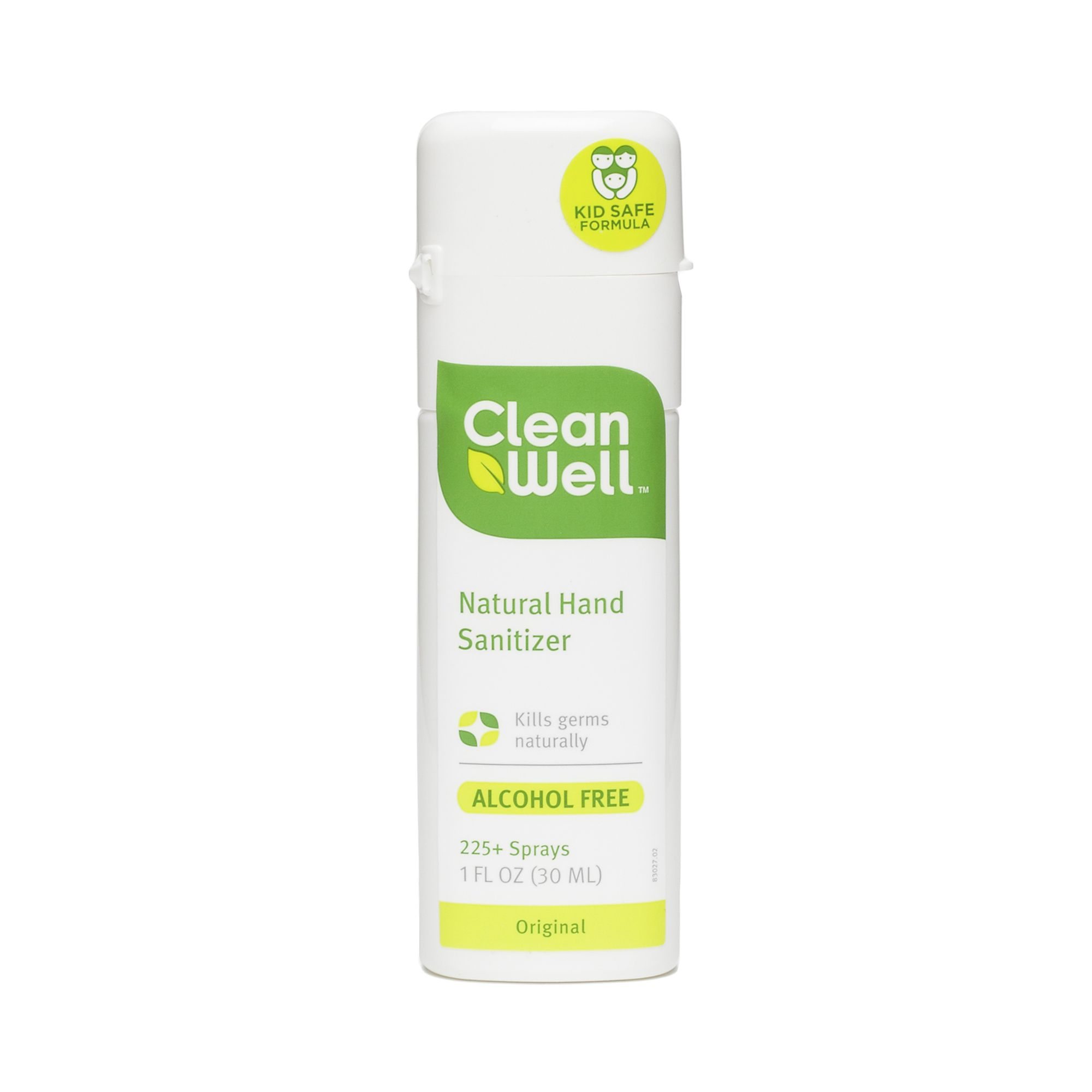Cleanwell Hand Sanitizer Spray Hand Sanitizer Natural Hand