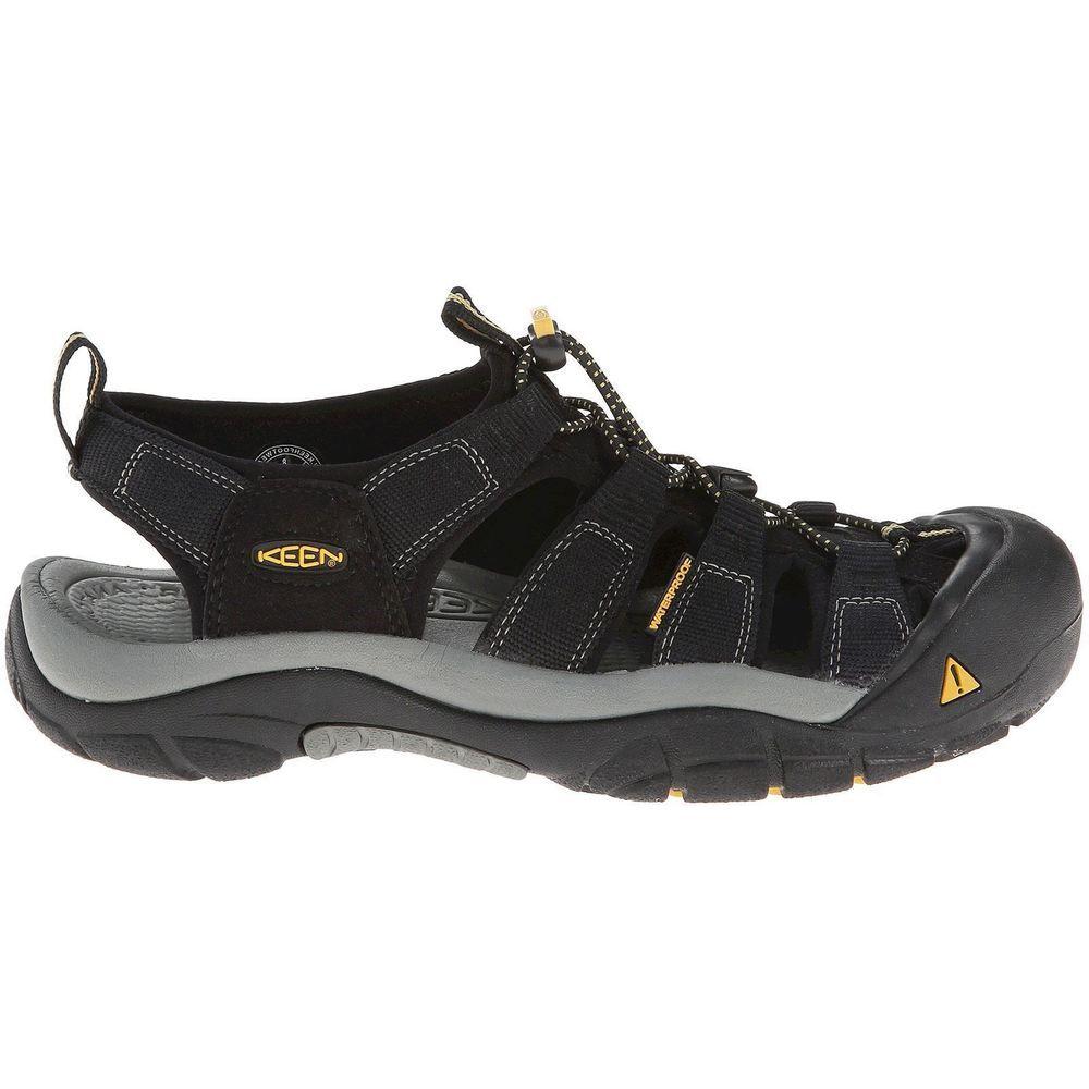 Keen Newport H2 Black Mens ClosedToe Hiking Trail Outdoor Sporty Sandals