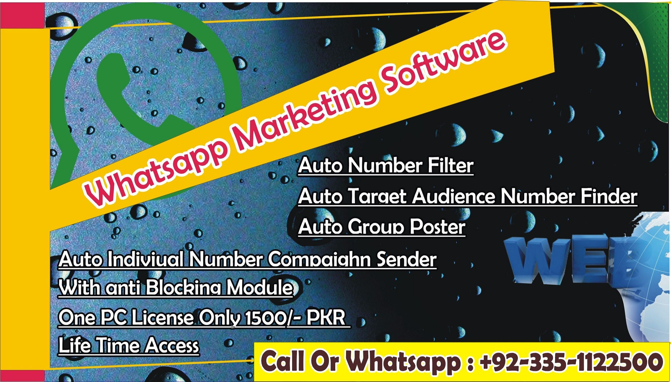 Pin by Ghulam Ch on Whatsapp Marketing Software | Marketing software