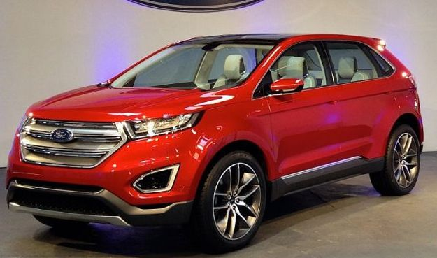 The New Ford Edge Coming To The U K