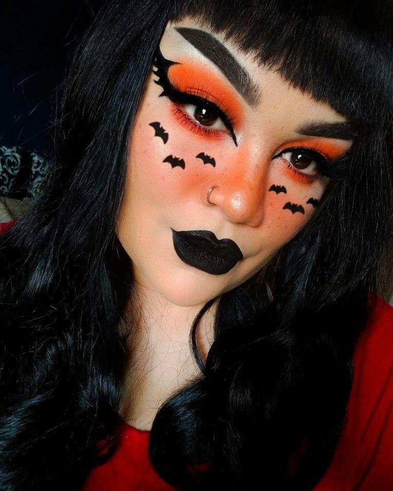 Bat Makeup Halloween Costume.Bat Queen Makeup Halloween Makeup Pretty Cute Halloween Makeup Halloween Makeup Looks