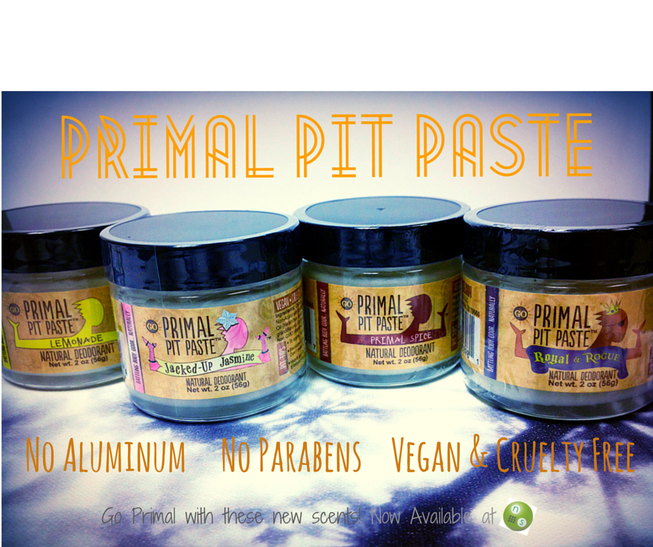 We love the new Pit Paste scents.  Now available here at NS.