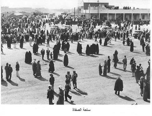 ساحة الصفاة حيث كانت السوق الرئيسي في الدولة Kuwait Scenes Street View