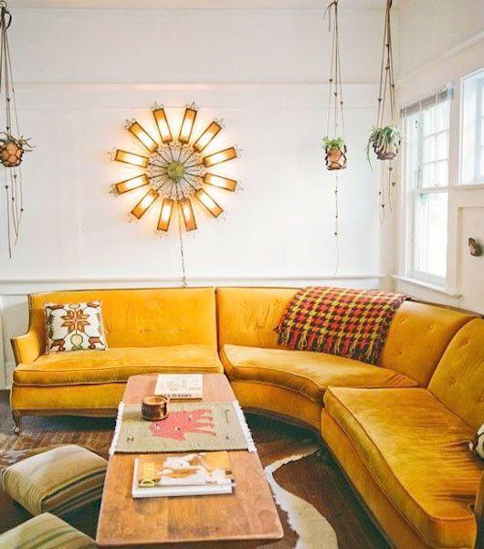 Citrus Situations Canape D Angle Arrondi Deco Maison Et Mobilier De Salon
