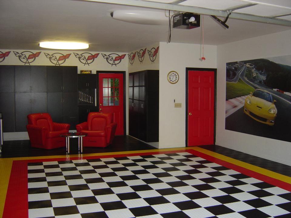 Corvette Garages Garage Decor Garages Game Room