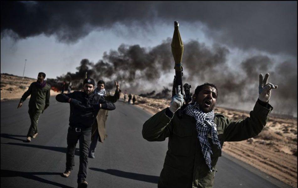 "Remi Ochlik ""the war of Libya"""