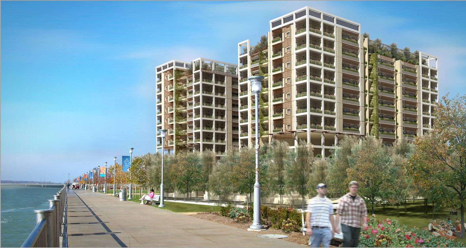 Yaghmour Architects – Furjan Rise Residential Flats