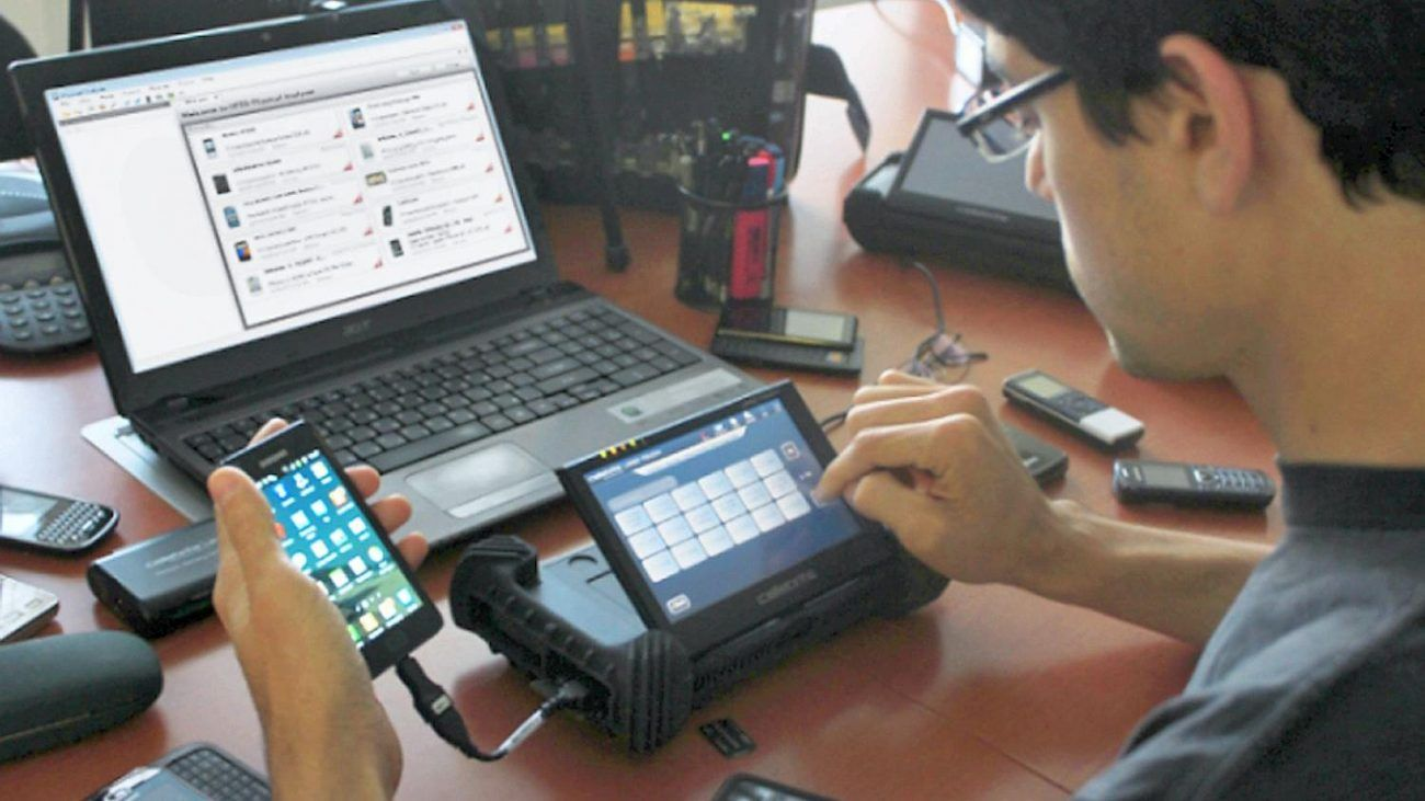 Mobile device forensics is law technology today