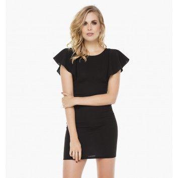 Zwart Jurkje Kort.Kort Zwart Jurkje Dresses Knitwear Cosy Outfit En Dresses