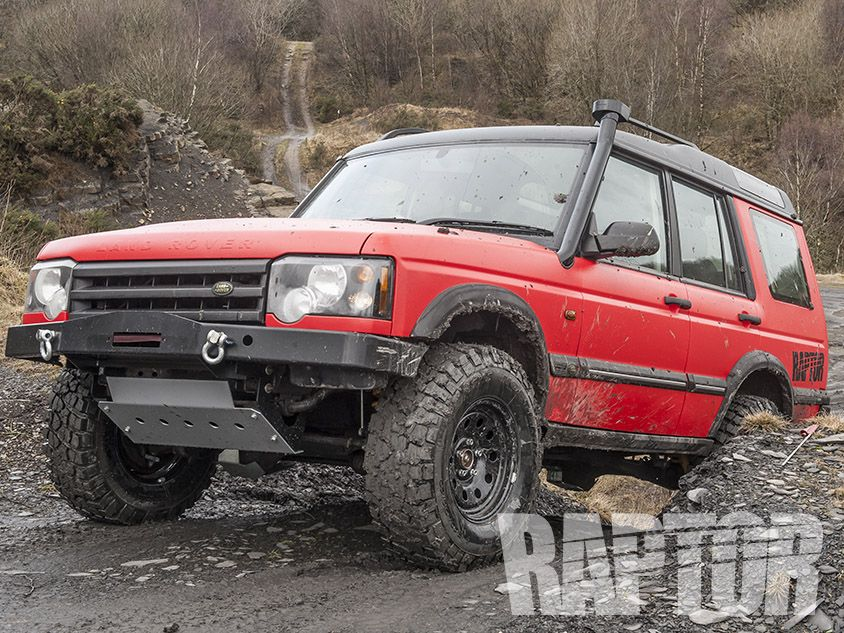 LAND ROVER DISCOVERY Full Overspray raptorised Land