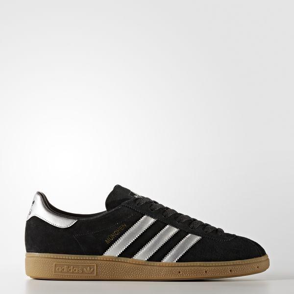 ADIDASmonaco Core Black/MATTE SILVER/footwear WHITE Sneaker by9790