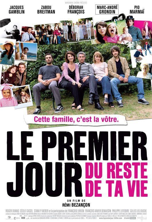 Film Le Premier Jour Du Reste De Ta Vie : premier, reste, Premier, Reste, Movie,, Inspirational, Movies,, Books