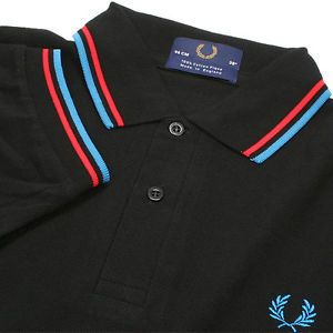 399a0bb20 New Men's Original M1200 Fred Perry Black Polo Shirt New colors added fred  Perry M1200 stocks
