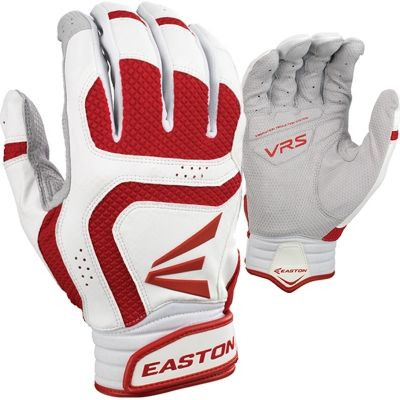 1 Pair Easton Stealth Core X-Large White Pink Fastpitch Womens Batting Gloves