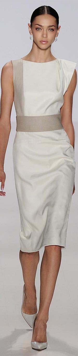 Pamella Roland Spring 2015 RTW (ready to wear) #runway #fashion #dresses