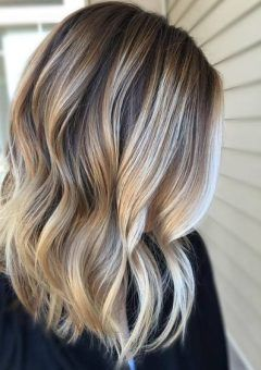 Ideas about dark blonde balayage on pinterest dark