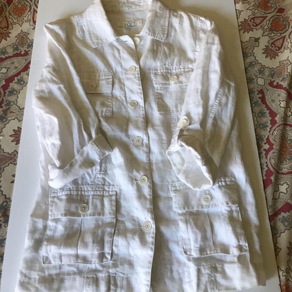 Loft Linen Jacket