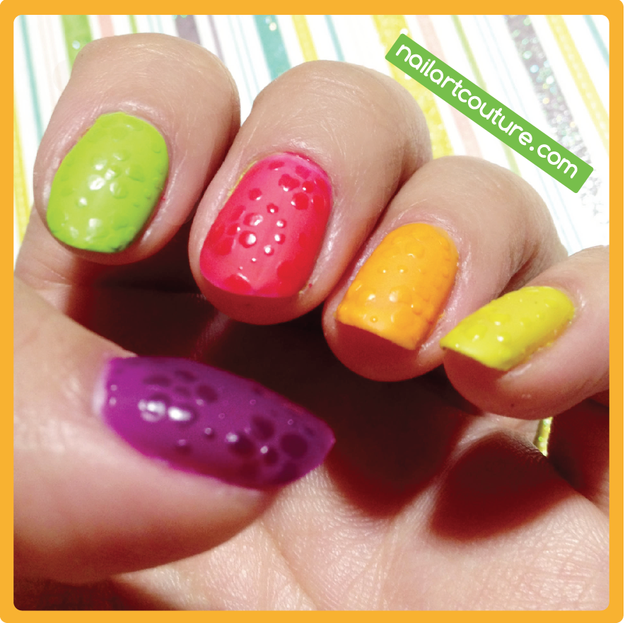 ☆Nail Art Couture☆ !: Glossy Flower in Matte Background | Nails ...