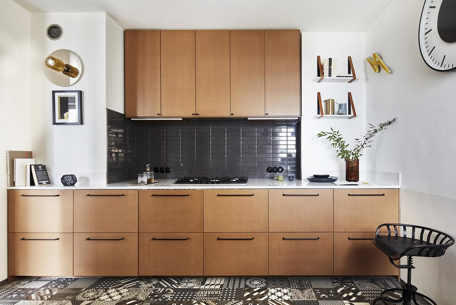 Our Raw Mdf Fronts On Ikea Metod Kitchen Designed By Mana For Living Kitchen Design Small Kitchen Kitchen
