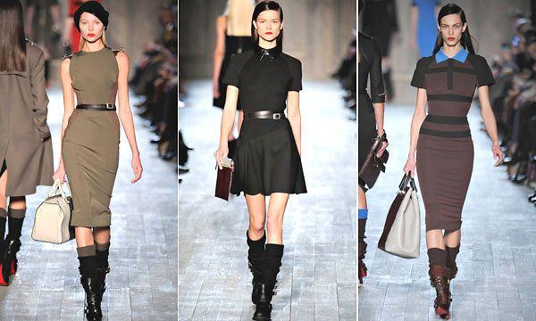 Victoria Beckham fashion week NYC 2/2012
