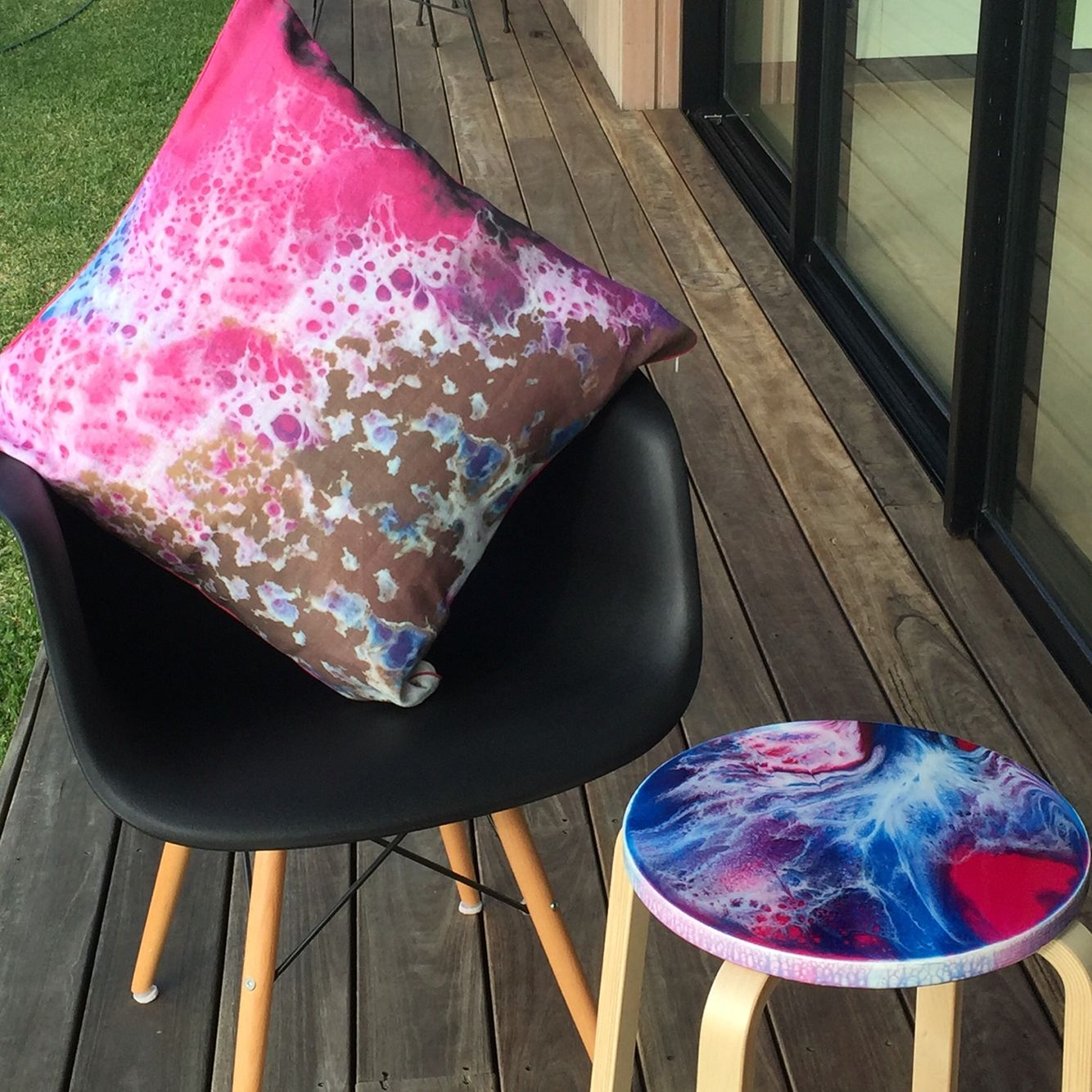 New cushion design and side table joartdesigns interior design