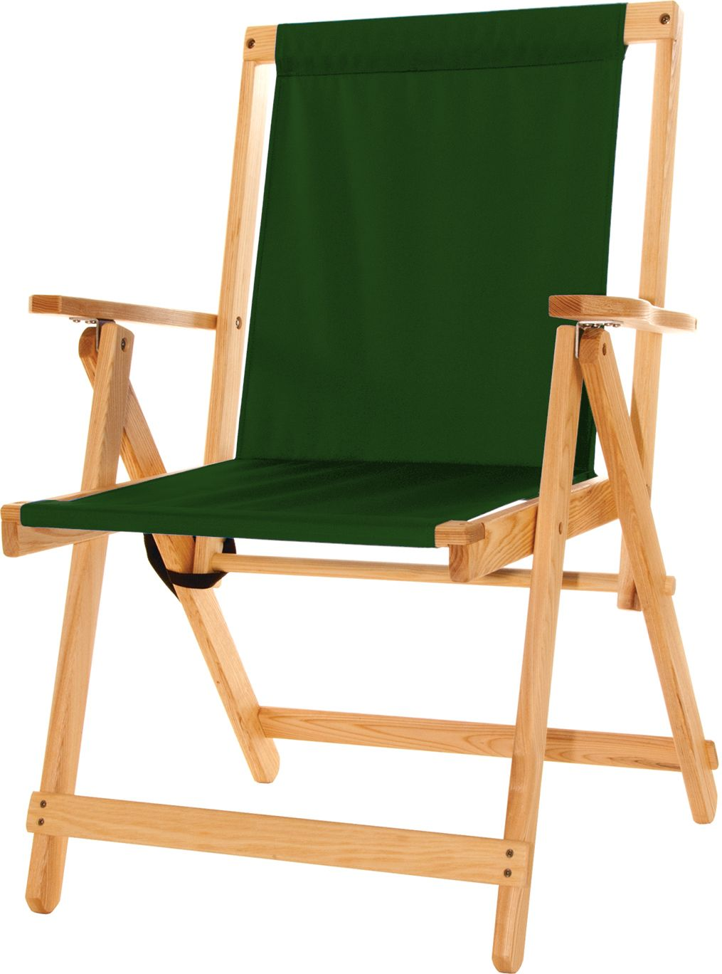 HIghlands Deck Chair Forest Green