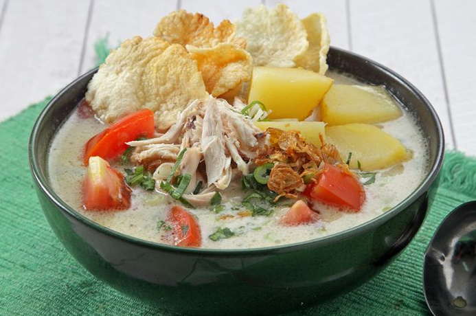 Resep Soto Ayam Santan Resep Sederhana Resep Resep Makanan Sehat