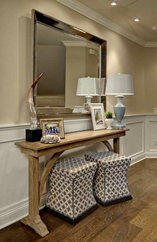 Superbe Le meuble console d' entrée complète le style de votre intérieur &IW_22