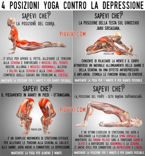Pose Yoga Per Combattere La Depressione