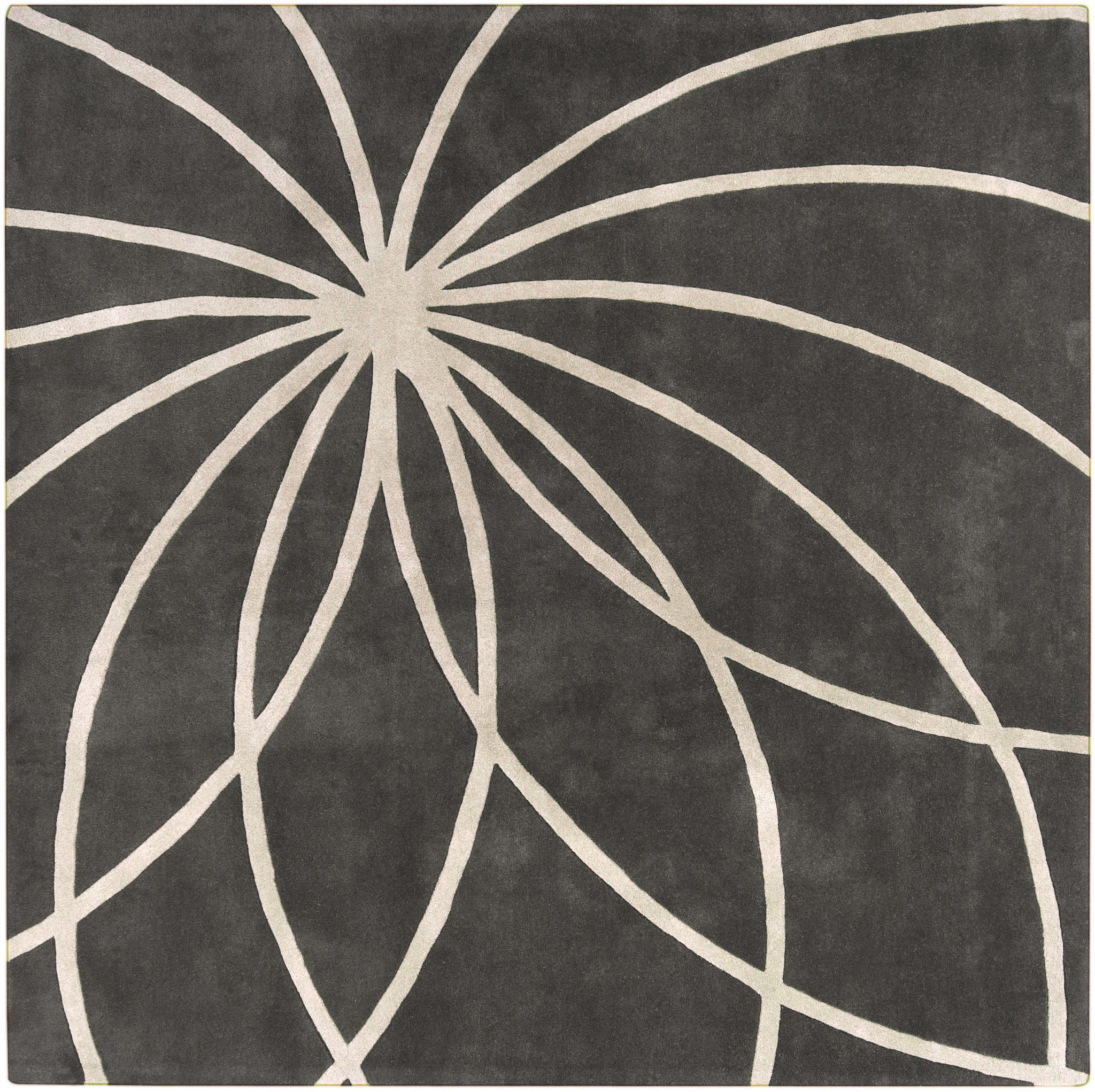 Surya FM7173 Forum Gray Square Area Rug